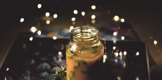Voedzame smoothie van kurkuma