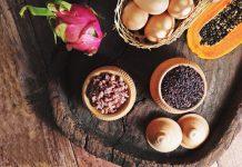 Vegan zwarte rijst recept