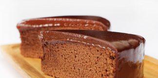 Chocolade-fit cake