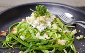 Appel cranberry salade