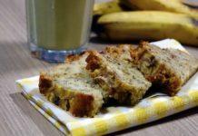 Vegan bananen cake