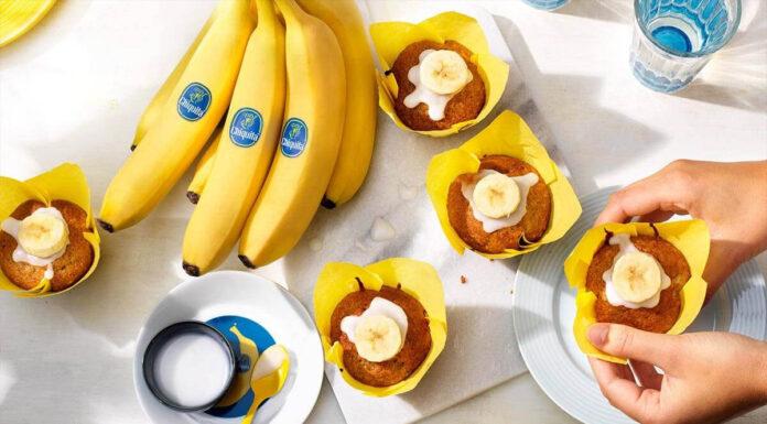 Bananenroomcupcakes