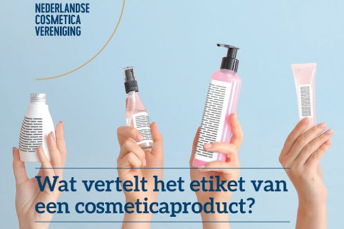 De NCV lanceert de uitgave 'Wat vertelt het etiket van een cosmeticaproduct?'