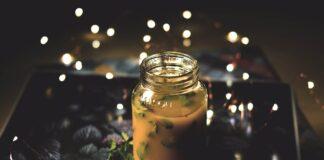 Juice kokoswater peer