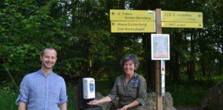 Eerste 'gratis insmeerpaal' door Natuurmonumenten geplaatst
