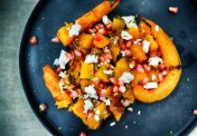 Pompoen en granaatappelsalade recept
