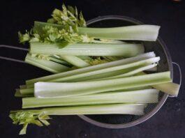 Gehydrateerd voedsel dat de vochtretentie in het lichaam elimineert